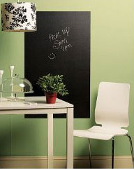 Chalkboard Decal on Wall