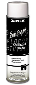 ZenErase Chalkboard Cleaner - Removes Chalk, Smudges, Fingerprints and Prevents Dust