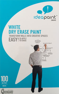 Dry Erase Paint for Wall