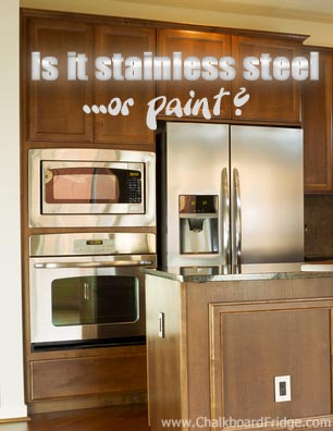 Stainless Steel Paint for Kitchen Appliances