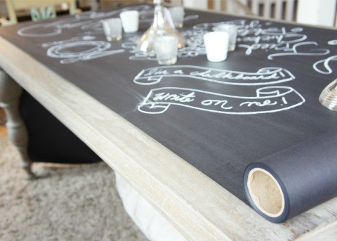 Wonderful Chalkboard Fridge
