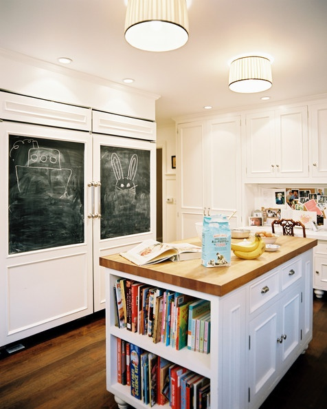 Chalkboard Fridge Panels