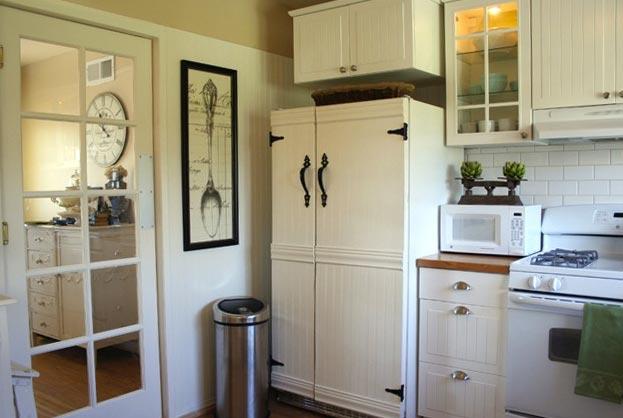 photos ideas using chalkboard refrigerator panels