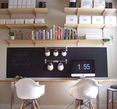 Chalkboard Office Wall