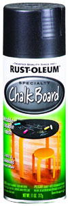 Can of Rustoleum Black Chalkboard Spray Paint