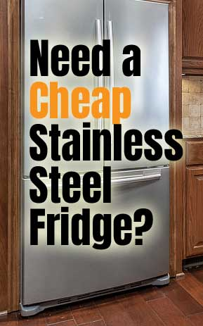 Cheap Stainless Steel Refrigerator